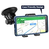 car windshield galaxy note - Galaxy Note 8 Car Mount, Fully Adjustable (Case Friendly) Vehicle Dock, Windshield & Dashboard Compatible (By Encased)