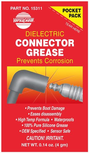 Versachem (15311-240PK) Dielectric Connector Grease - 4 Grams Pocket Pack, (Pack of 240) by Versachem