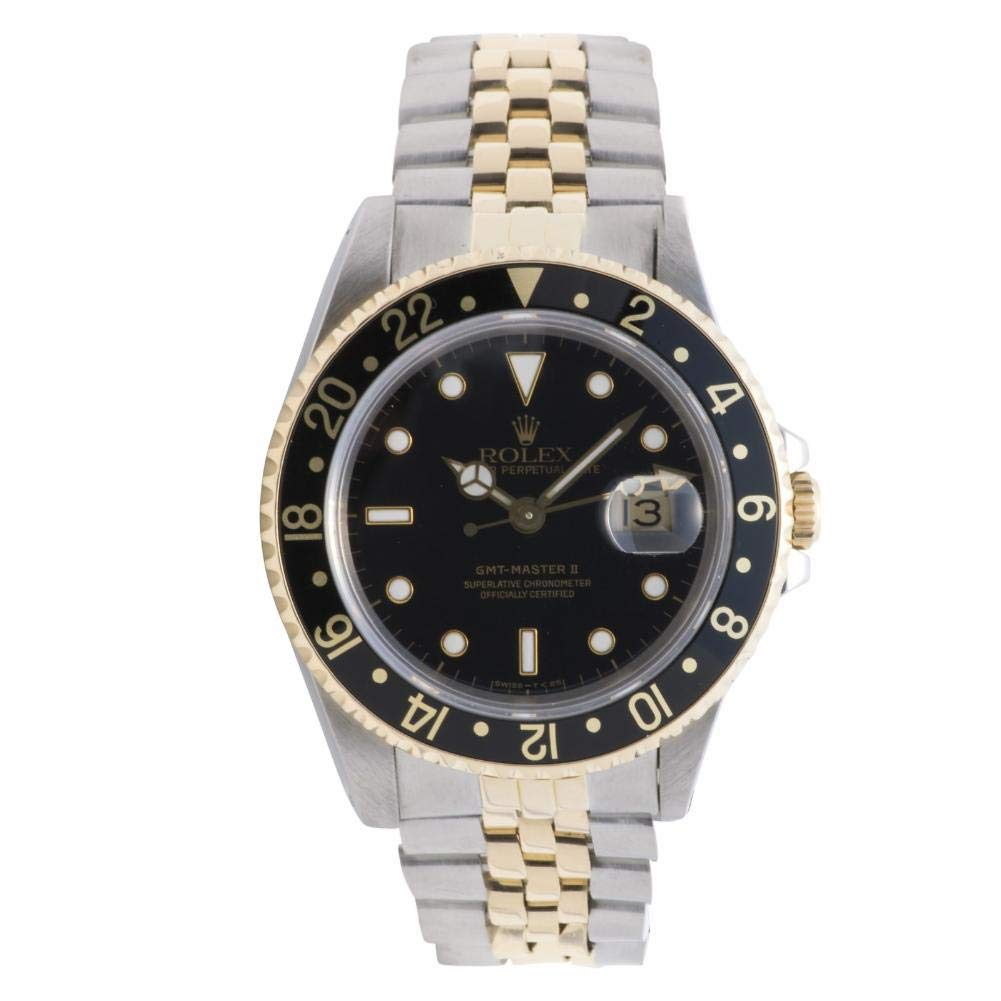 Amazon Com Rolex Gmt Master Ii Automatic Self Wind Male Watch 16713