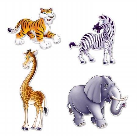Buy beistle jungle animal cutouts 15.5 1342-54215