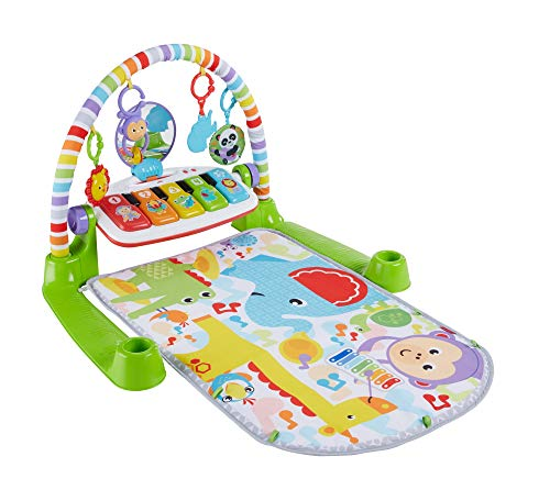 Fisher-Price Deluxe Kick 'n Play Piano Gym (Months Toys 3 Newborn 0)