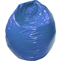 Gold Medal 30008409204 Small Wet Look Vinyl Bean Bag for Children, Blue