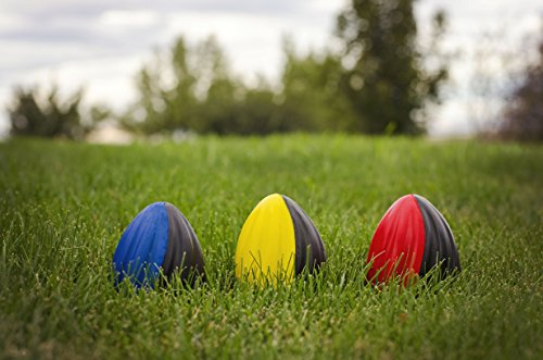 "Foam Ball Football Toy - Sports Toy - Kids Football - Three 5"" Spiral Football Includes One of each Color"