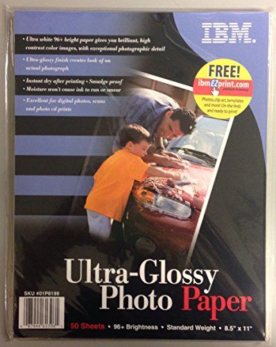 Ibm Photo - IBM - Ultra-Glossy Photo Paper 8.5