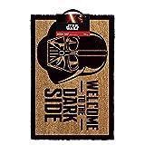 Star Wars Welcome To The Dark Side Door Mat Brown
