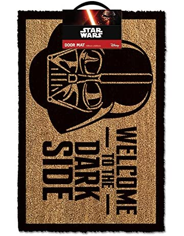 Star Wars GP85033 - Alfombra para puerta La Guerra de las Galaxias Welcome To The Dark