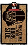 OOTB GP85033 Paillasson, Star Wars-Welcome to The Dark Side, Fibre de Coco, Multi, 40 x 60 x 1,5 cm