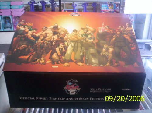 (Street Fighter Anniversary Edition Arcade Stick (PS2 & Xbox))