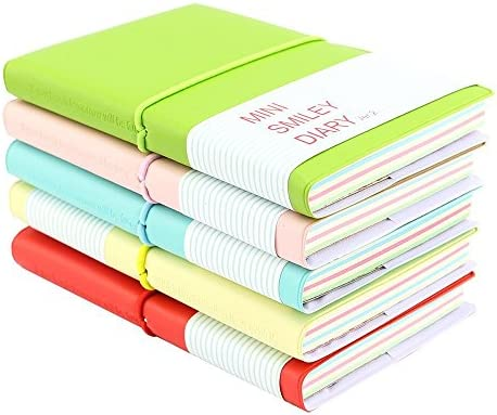 4Pcs Ruled Line Notebook Journal Diary Note pad Memo Planner Stationery School