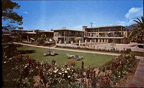 The Ming Tree Resort Motel, 930 Orilla Del Mar Santa Barbara, California Original Vintage Postcard