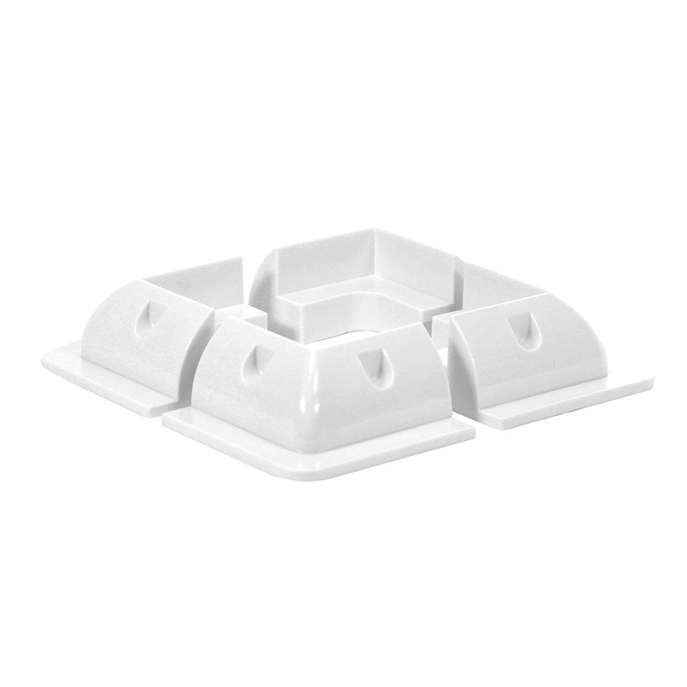 Offgridtec ABS Corner Profile Set Light Duty White 150 x 150 mm, 1 piece, 006530 1piece Offgridtec GmbH