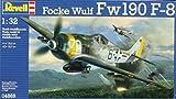 Revell 1:32 Focke Wulf Fw-190 F-8 Schlachter German Plastic Model Kit #04869