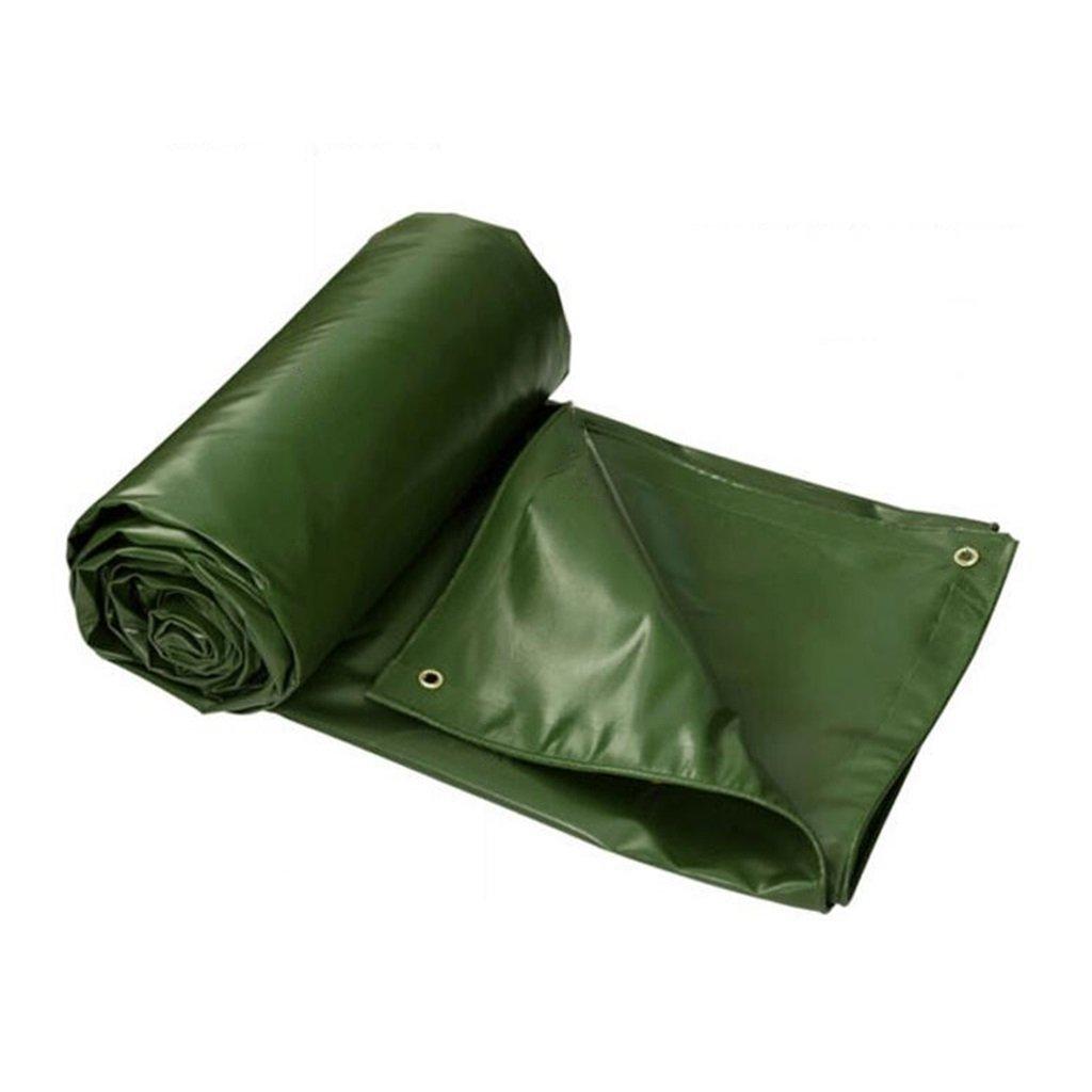Zelt Zubehör Plane Staubdichte Wasserdichte Plane Truck Shed Cloth - UV-Schutz - Dicke 0,5 mm, 550 g m², 8 Größenoptionen Idee für Camping Wandern