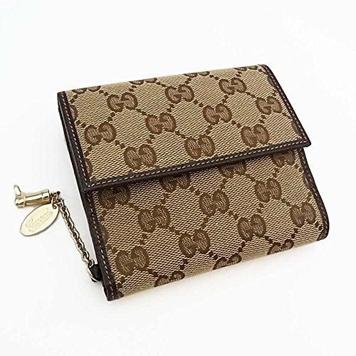 グッチ GGキャンバス 財布(ホック式小銭入れ付き) 154182
