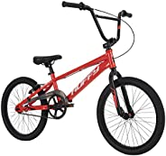 """Huffy Axilus 20"""" BMX Bike for Kids and Adults, Steel Frame, Racing BMX"""