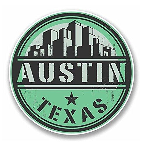 Austin Texas USA Sticker Decal - Sticker Graphic - Auto, Wall, Laptop, Cell, Truck Sticker for Windows, Cars, - Austin Sticker