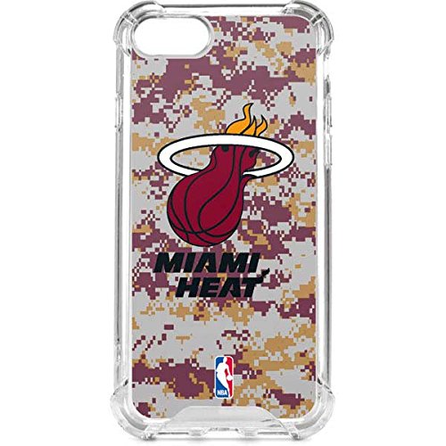 Miami Heat iPhone 8 Case - Miami Heat Digi Camo | NBA & Skinit LeNu Case