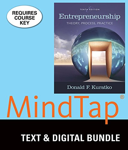 Bundle: Entrepreneurship: Theory, Process, and Practice, Loose-Leaf Version, 10th + MindTap Management with Live Plan, 1