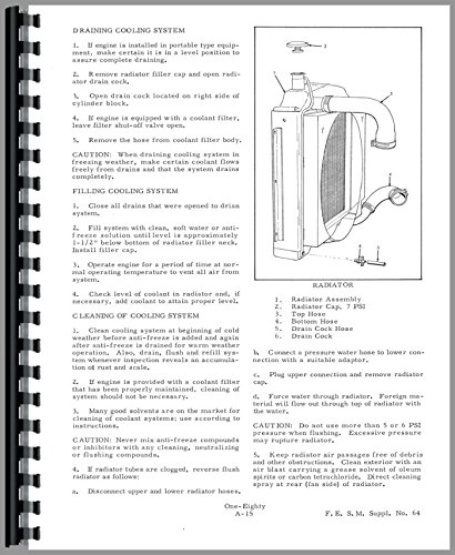 Download Allis Chalmers 180 Tractor Service Manual pdf epub