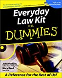 Everyday Law Kit for Dummies, John Ventura and Mary Reed, 0764552937