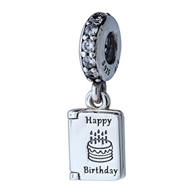 Pandora 791723cz Birthday Wishes Charm