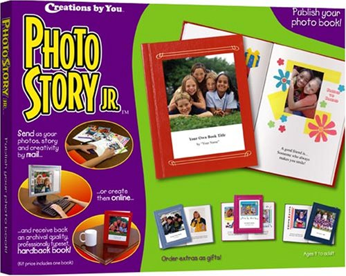 (Creations by You Photo Story Jr.:  Publish your own keepsake photo book!)