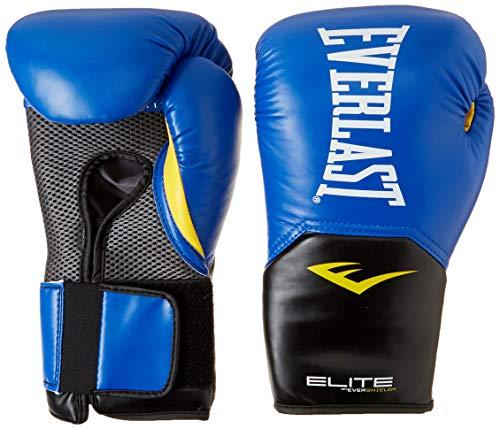 Everlast Elite Pro Style Training Gloves, Blue, 12 oz