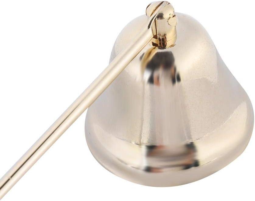 in acciaio inox moda campana a forma di candela Snuffer Wick Trimmer coperchio strumento mano candela accessori argento Spegni candela
