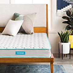 Get a restful night's sleep on this traditional spring mattress from LinenSpa. A quilted fabric cover and inner foam layer provide comfort and resilience, while heavy gauge steel coils offer lasting support. Because your family's safety is as...