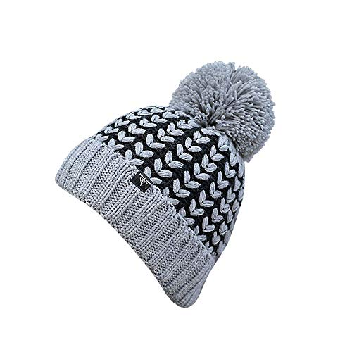 - AMSKY Hat for Baby Boy 12-24 Months,Adult Women Men Winter Crochet Hat Knit Hat Wheat Hairball Warm Cap,Running Waist Packs,Gray,One Size