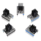 Witbot TMC2208 Stepper Motor Driver Module with Heat Sink Upgraded TMC2100 DRV 8825 Driver Compatible with Ramps1.4 or MKS Board for 3D Printer(Pack of 5pcs)