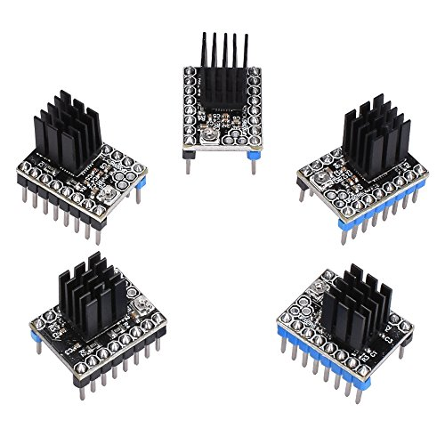 Witbot TMC2208 Stepper Motor Driver Module with Heat Sink Upgraded TMC2100 DRV 8825 Driver Compatible with Ramps1.4 or MKS Board for 3D Printer(Pack of 5pcs) by Witbot