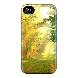 For Iphone 4/4s Protector Case Sun Rays Phone Cover