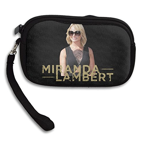 Amurder Coutry Music Miranda Lambert Fashion Money Wallet Pouch Bag Black