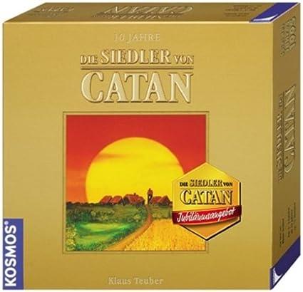 KOSMOS 693053 Die Siedler Von Catan - Juego de Mesa (edición Dorada) [Importado de Alemania]: Amazon.es: Juguetes y juegos