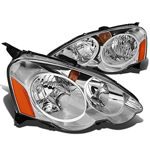 - DNA Motoring HL-OH-ARSX-CH-AM Headlight Assembly (Driver & Passenger Side)