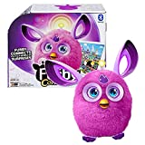 Furby Year 2016 Connect Series 6 Inch Tall Electronic App Plush Toy Figure - PURPLE FURBY with Light-Up Antenna