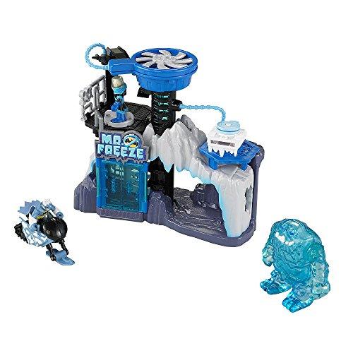 Imaginext DC Super Friends Exclusive Mr. Freeze Headquarters Gift Set