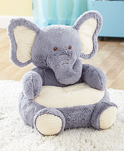 The Lakeside Collection Kids Plush Elephant Chair