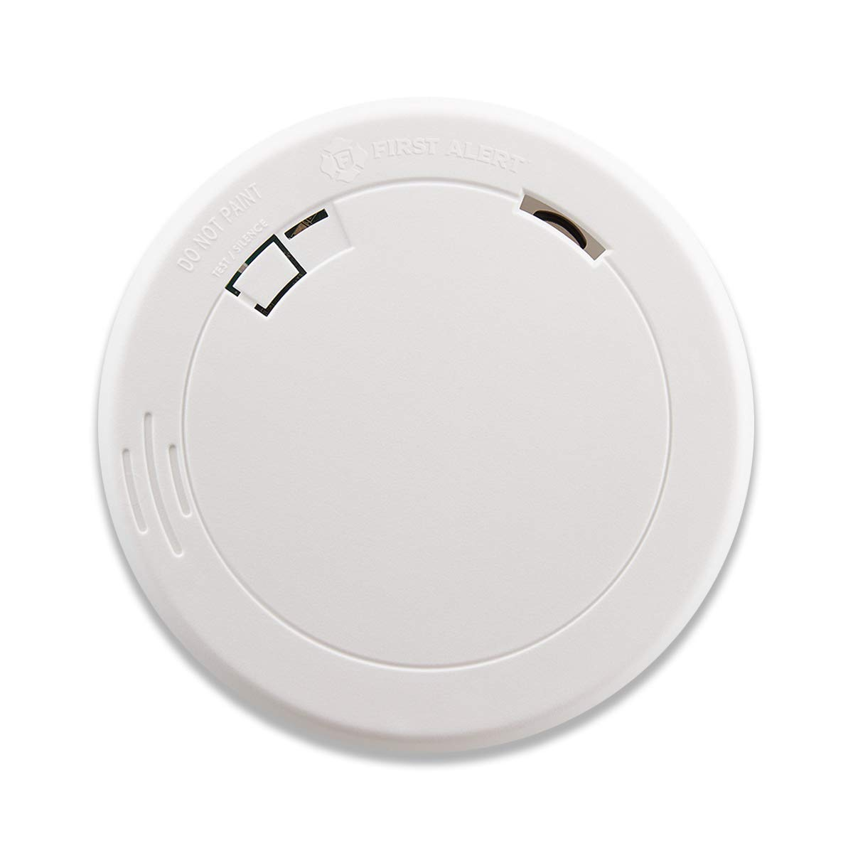 First Alert PR710 Slim Photoelectric Smoke Alarm with 10 Year Sealed Battery