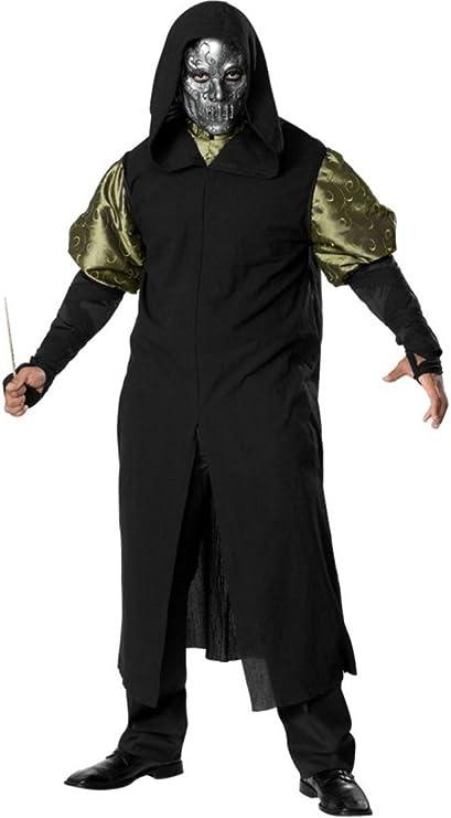 Harry Potter mortífago Death Eater traje de lujo: Amazon.es ...