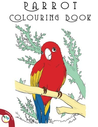 Parrot Colouring Book