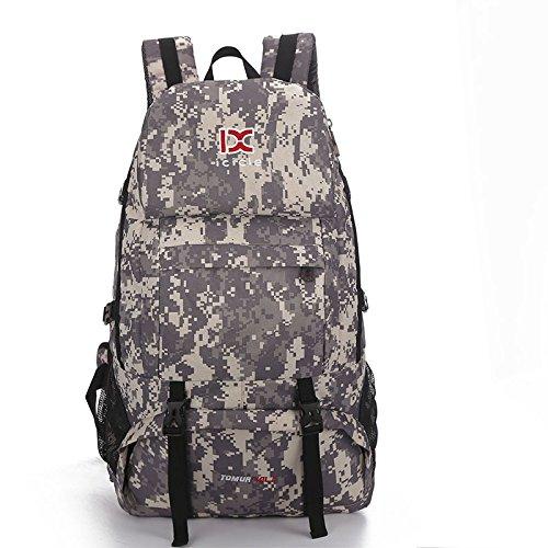 Mountaineering Bag Outdoor Männer und Frauen Schulter Rucksack Wanderpackage Bergsteigen Taschen , army grün