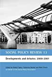 Social Policy Review, , 1861343272