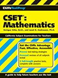img - for CliffsTestPrep CSET: Mathematics book / textbook / text book