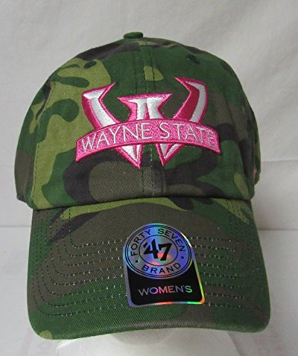 47 Twins Wayne State Warriors Women's Adjustable NCAA Fashio