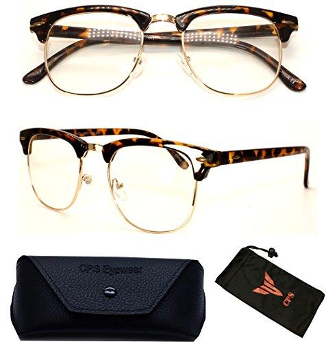 (#RF9053) Premium Quality Clubmaster Retro Reading Glasses (Strength: - Precription Glasses