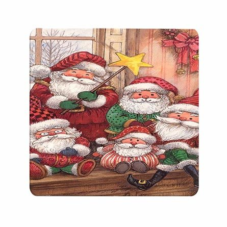 Mouse Pad Super Hot (Custom Santa Family Hot Super Lightweight Mousepad)