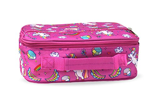 Keeli Kid's Lunch Box Pink Unicorn with Pink Sandwich Cutter in Unicorn Pink by Keeli Kids (Image #4)