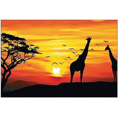 African Safari Backdrop Banner